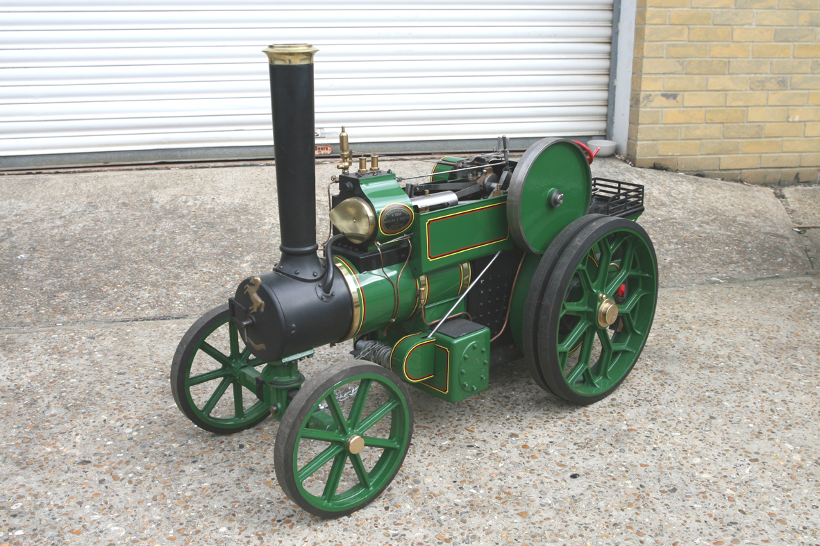 3 Inch scale Aveling & Porter road tractor