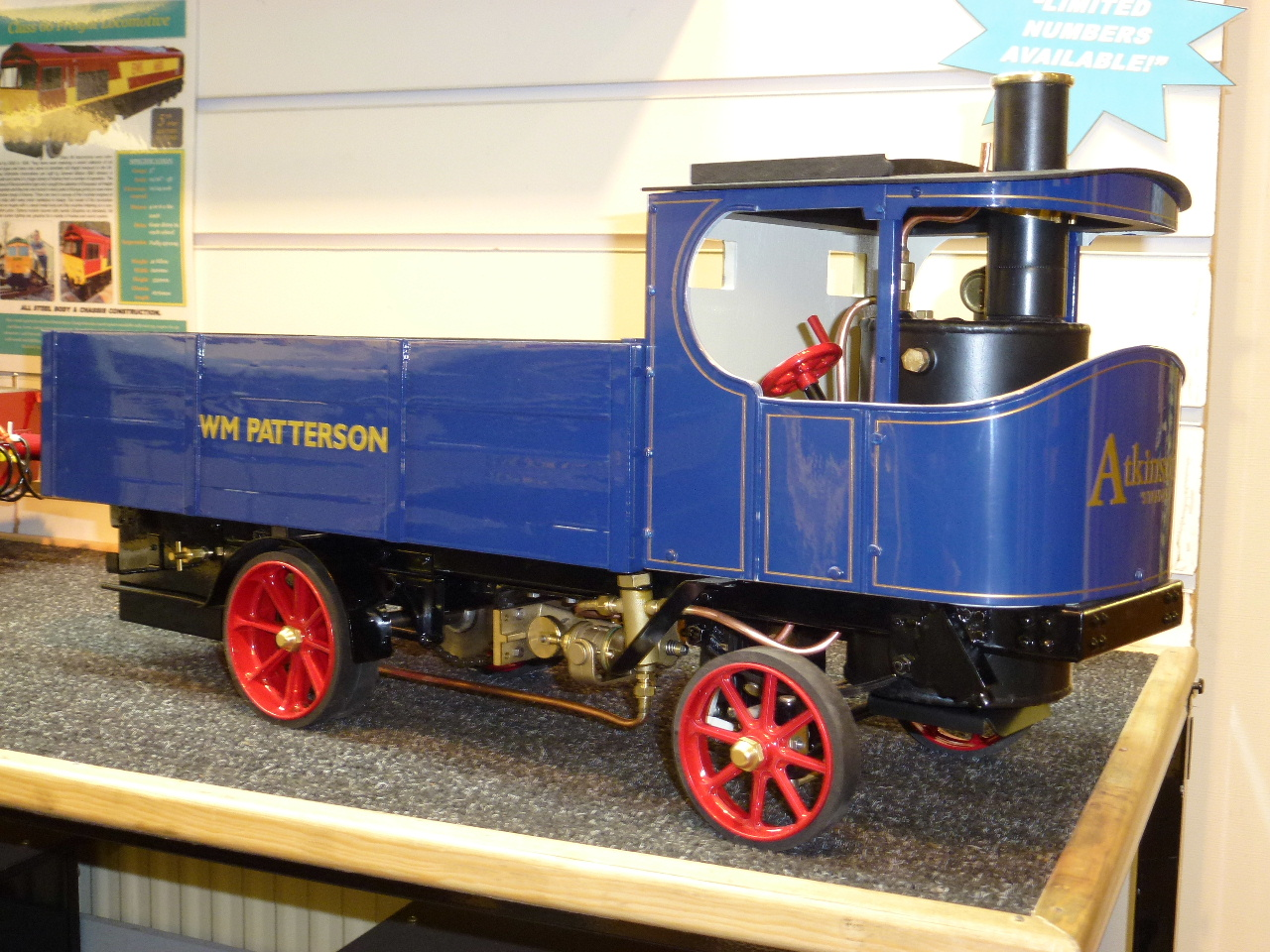 1 Inch Scale Atkinson Steam Wagon