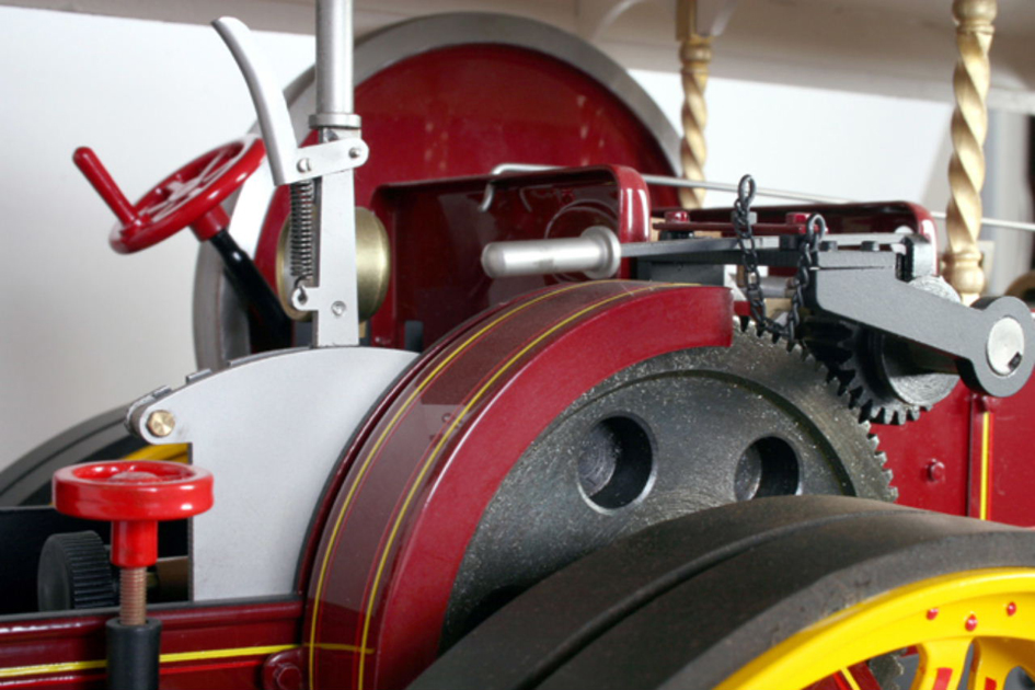 1 Inch scale Burrell showmans locomotive