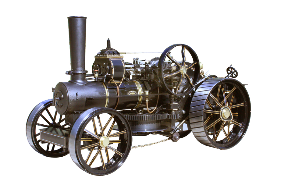 1 Inch scale Fowler ploughing engine
