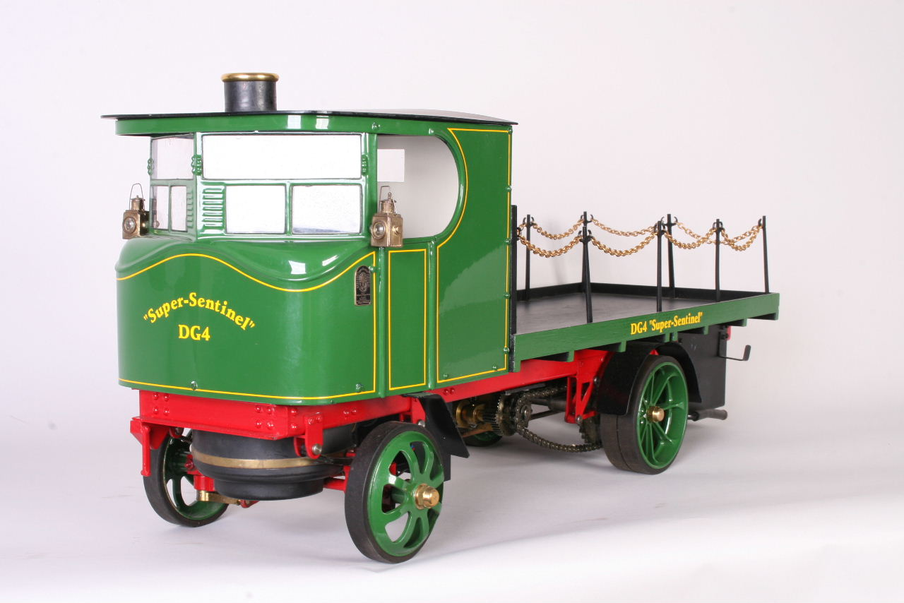 1 Inch Scale Super Sentinel Wagon