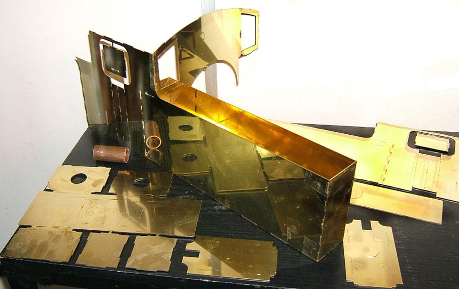 5 Inch Gauge Simplex  Laser cuts