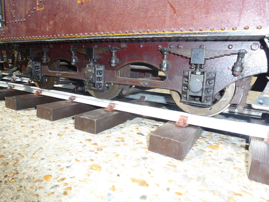 5 Inch Gauge Princess Chassis & parts