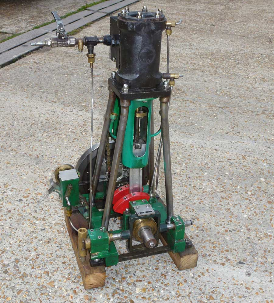 Stationary engine large