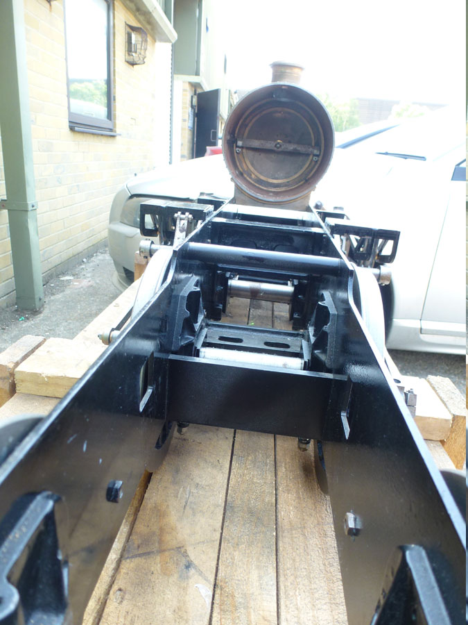 5 Inch Gauge Springbok Chassis
