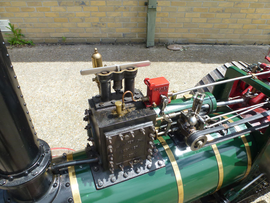 4 Inch Fosters Traction Engine