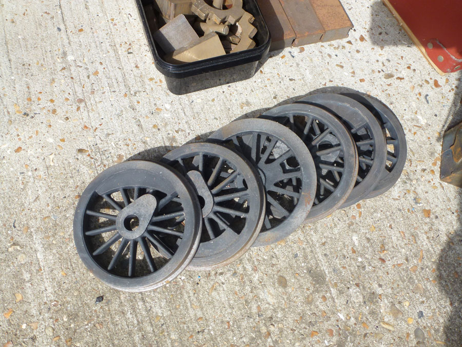 5 Inch Gauge Pansy Castings