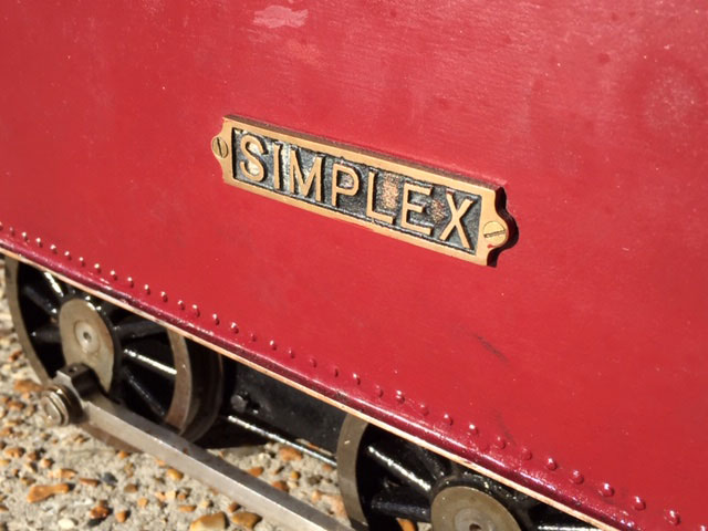 5 Inch Gauge Simplex Project