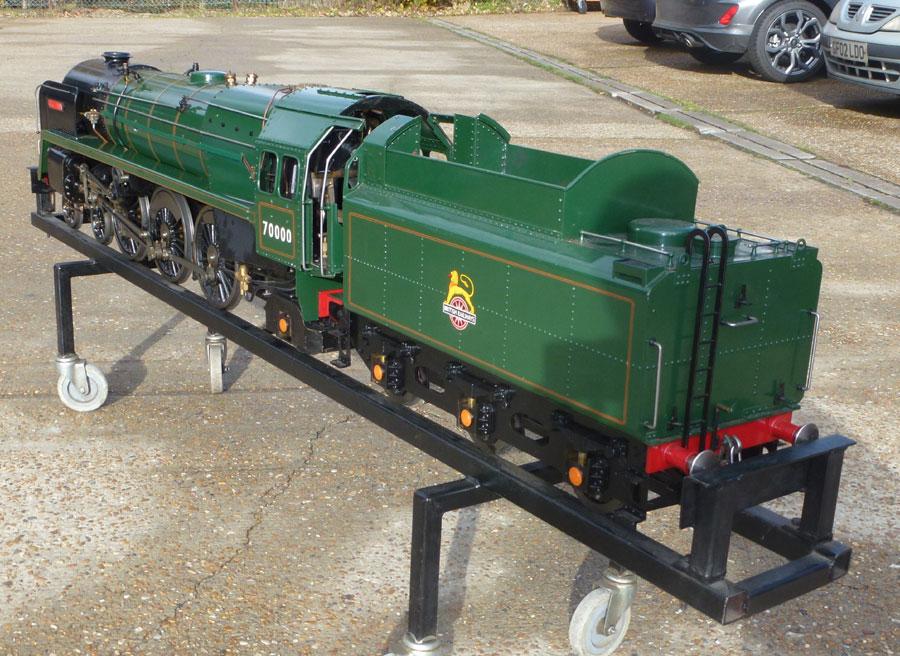 Maxitrak - 5 Inch Gauge Britannia