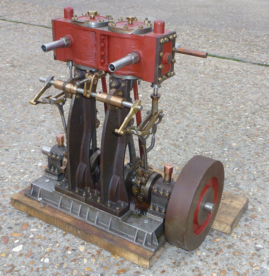 Large Vertical Engine