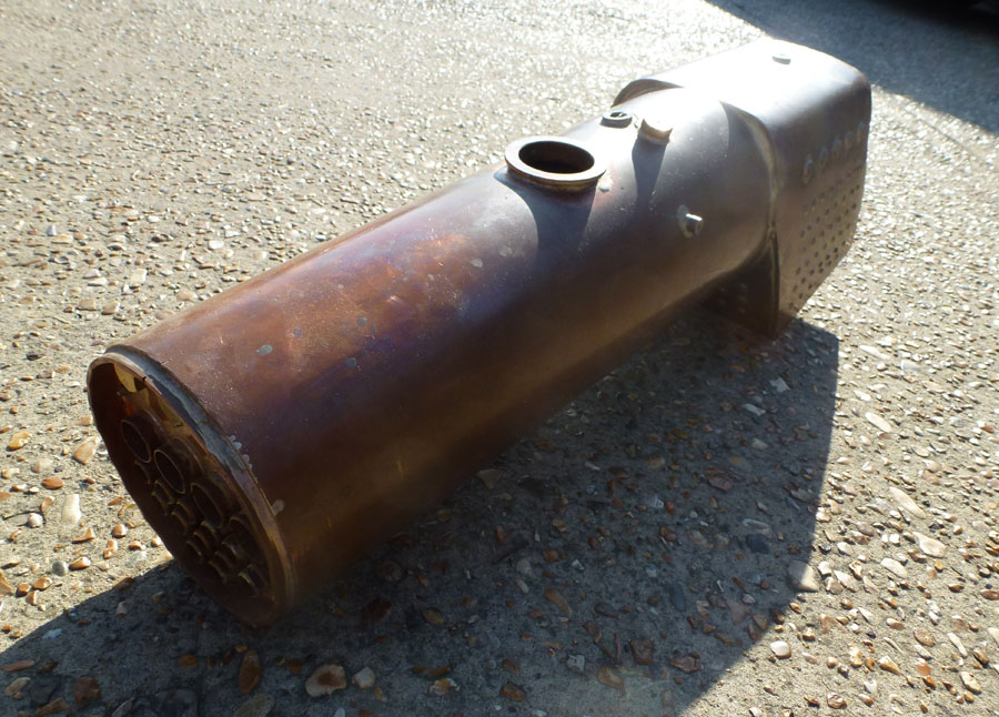 3.5 Inch Gauge Britannia Boiler