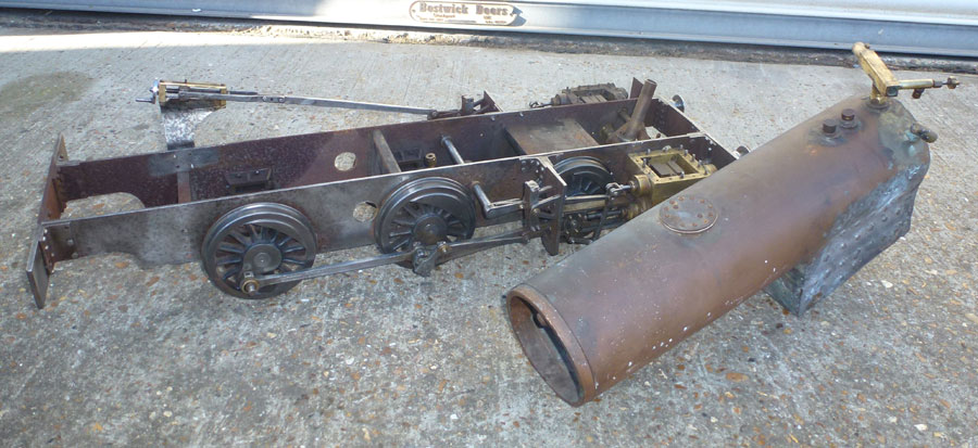 5 Inch Gauge Simplex Chassis/Boiler