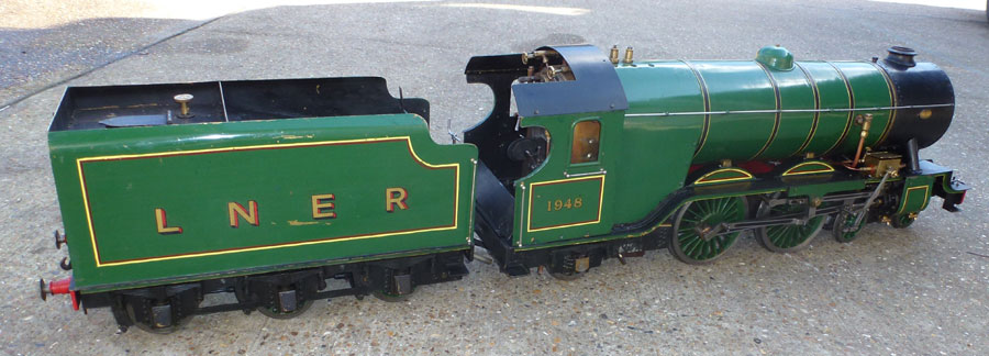 5 Inch Gauge LNER Atlantic