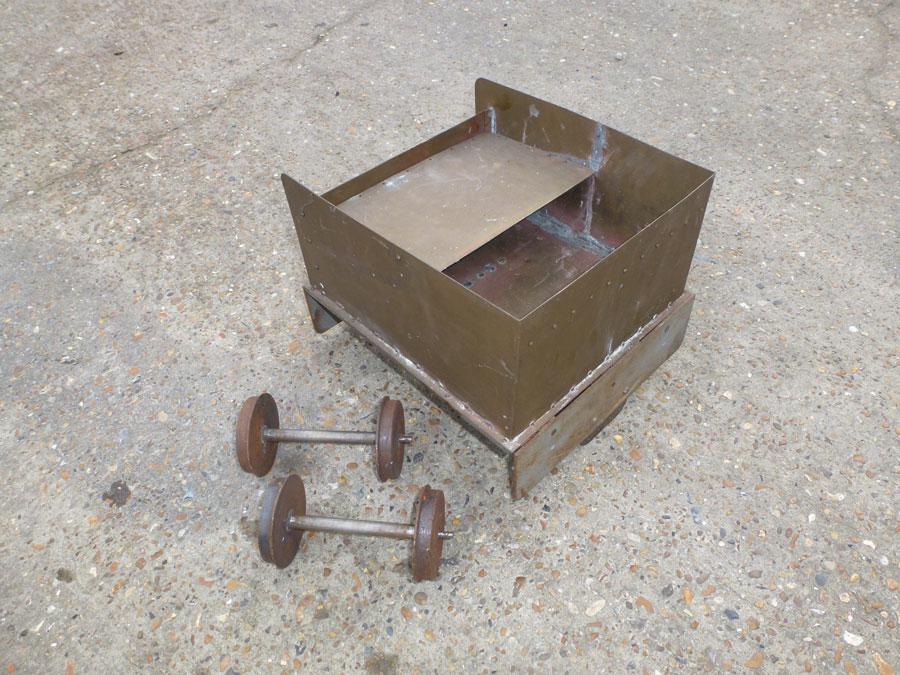 5 Inch Gauge 4 Wheel Tender