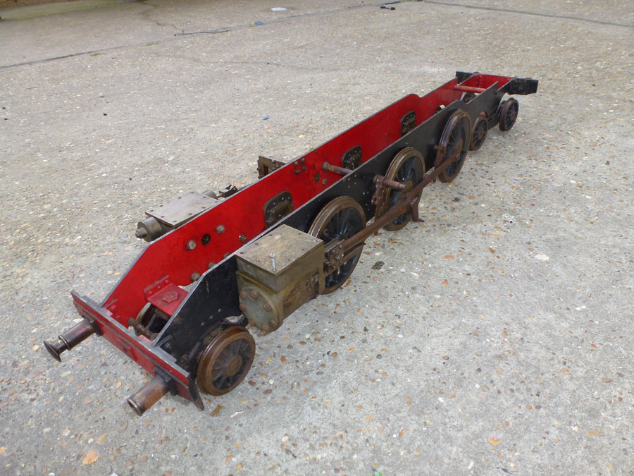 3 1/2 Inch Gauge Chassis