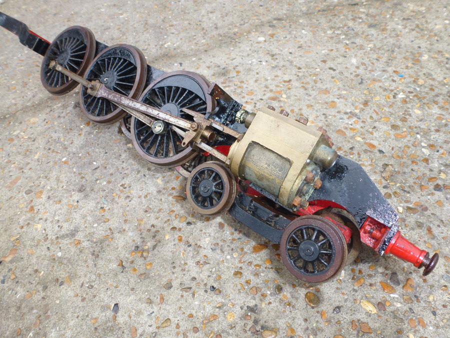 2 1/2 Inch Gauge 4-6-2 Chassis
