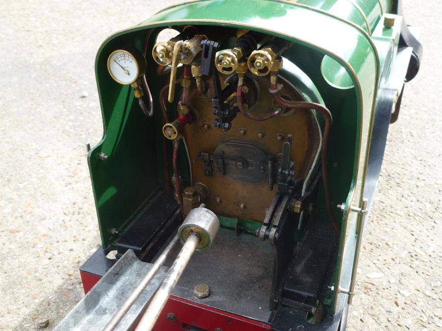 5 Inch Gauge Stirling Single