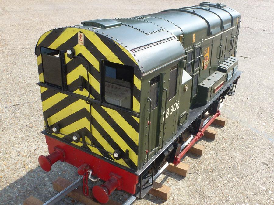 7 1/4 Inch Gauge 08 Diesel