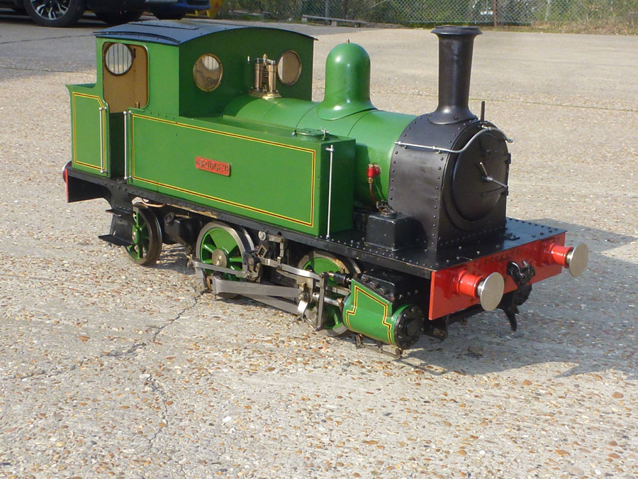 7 1/4 Inch Gauge Green Bridget