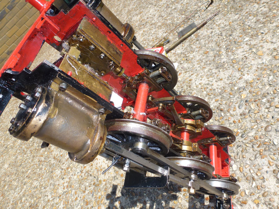 3 1/2 Inch Gauge Rob Roy Chassis