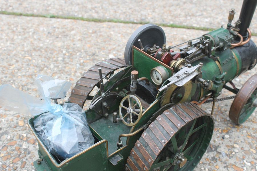 1 Inch Scale Freelance Traction Engine