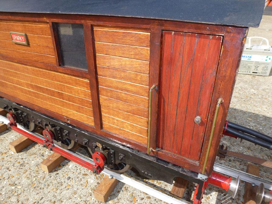 5 inch double tram car
