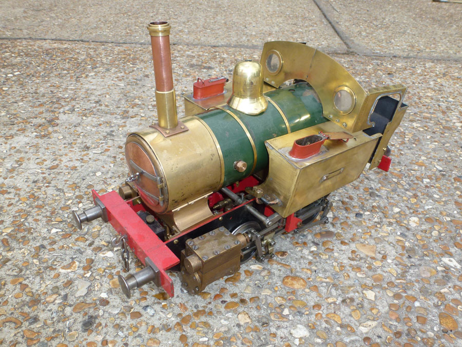 3.5 Inch Gauge Titch Project
