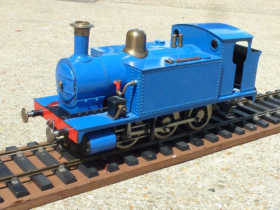 3.5 Inch Gauge Blue Rob Roy