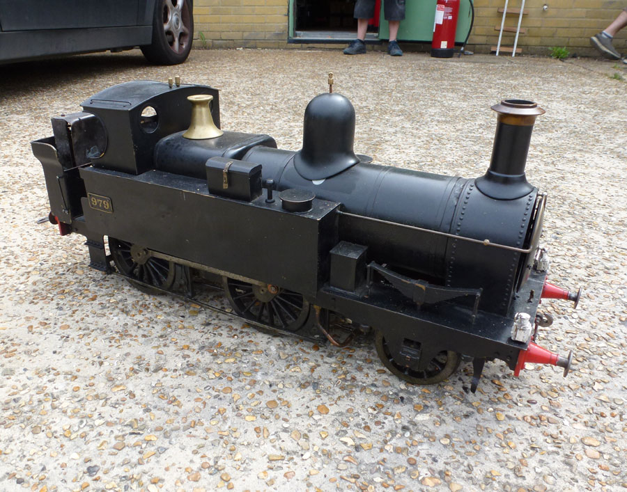 5 Inch Gauge Metro Tank Engine