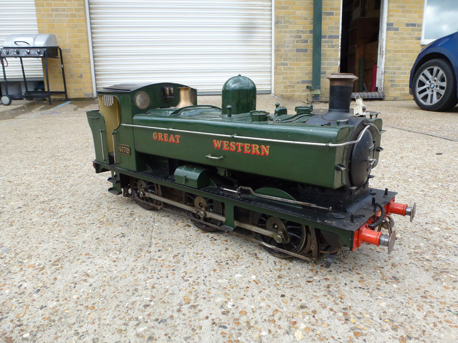 5 Inch Gauge GWR Pansy