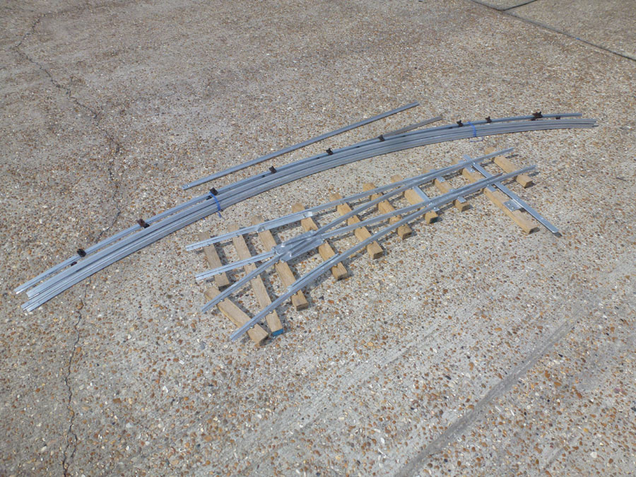 5 Inch Gauge 10ft Assembled Point