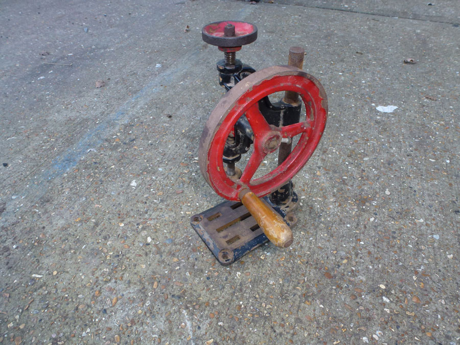 Mechanical Hand Drill