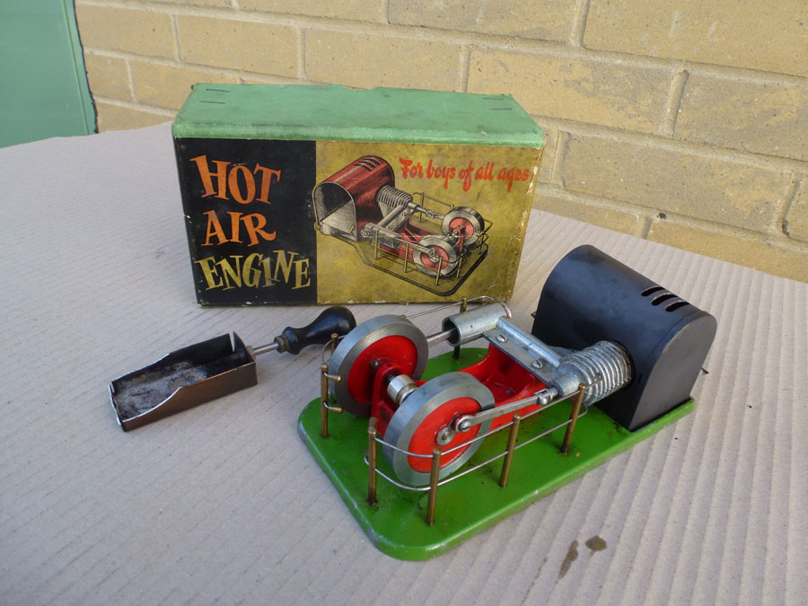 Davies Charlton Hot Air Engine