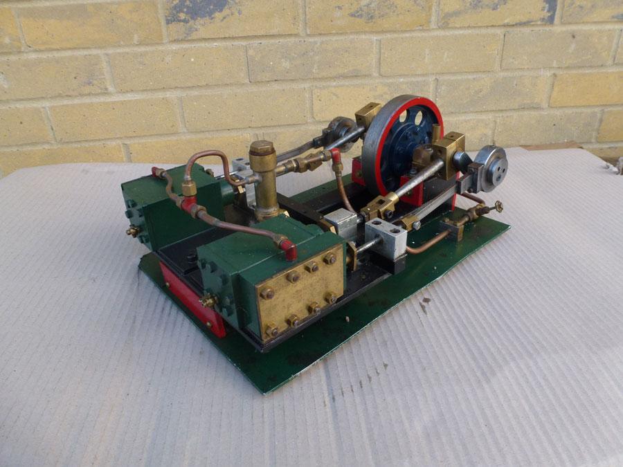 Twin Cylinder Stationary Engine