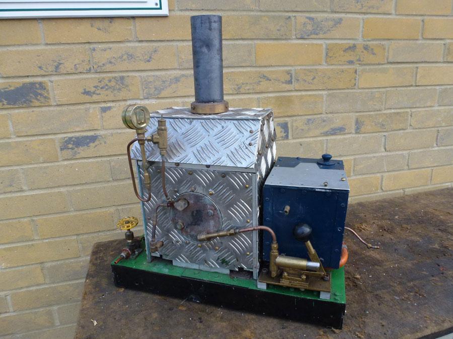 Large Boiler Set Up