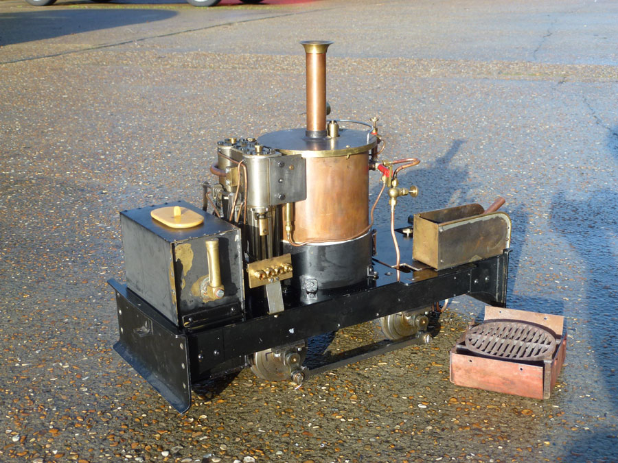 5 Inch Coal Fired Chaloner