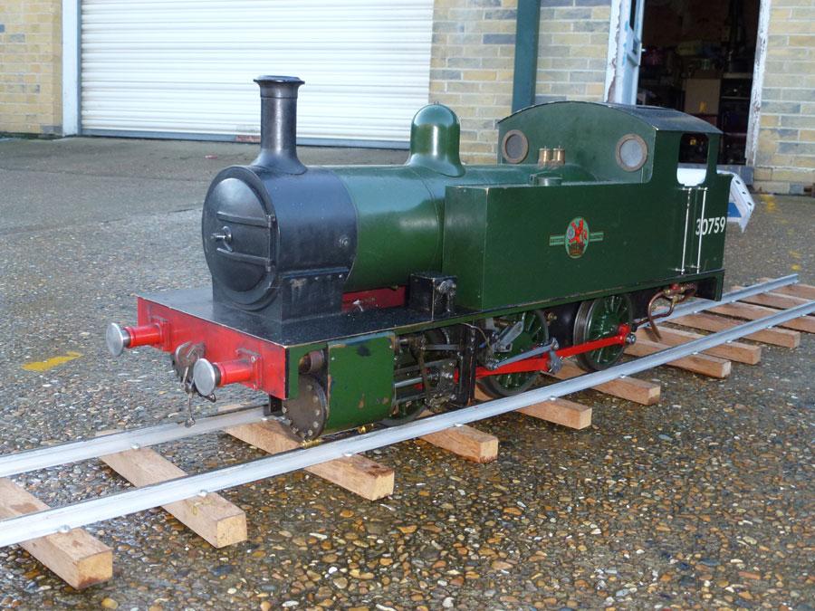 5 Inch Simplex Locomotive