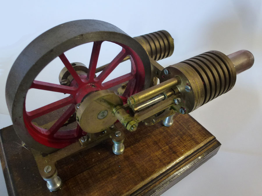Brass Hot Air Engine