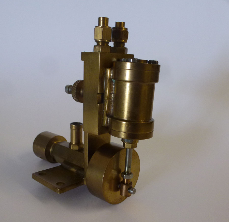Single Cylinder Oscilating Engine