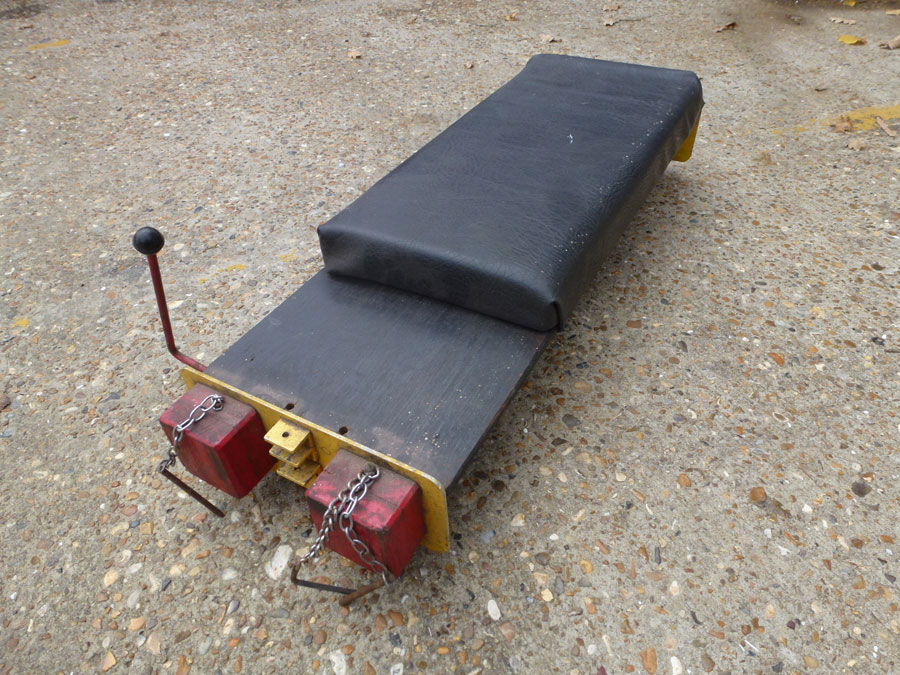 5 Inch Gauge Raised Track Wagon Braked