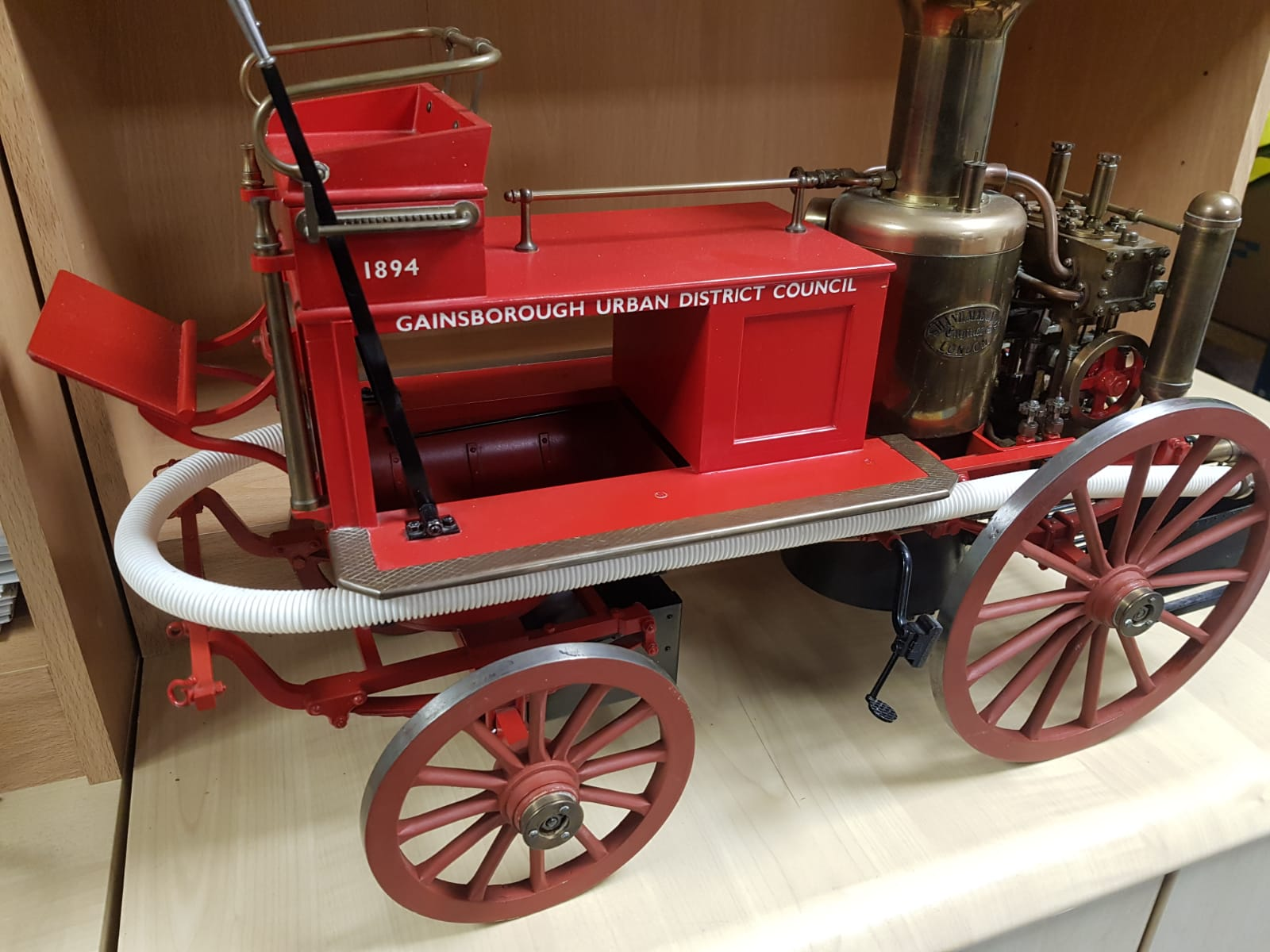 2 Inch scale Shand Mason Fire Engine