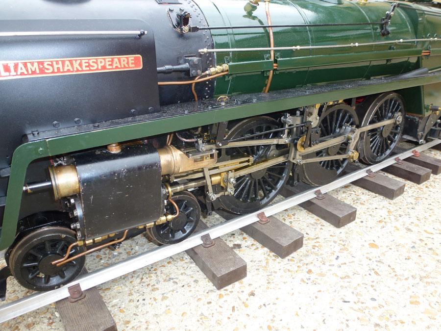 5 Inch Gauge Winson Britannia
