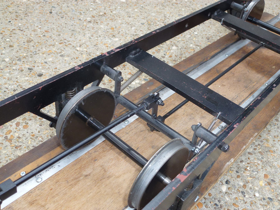 5 Inch Gauge Raised Track Wagon