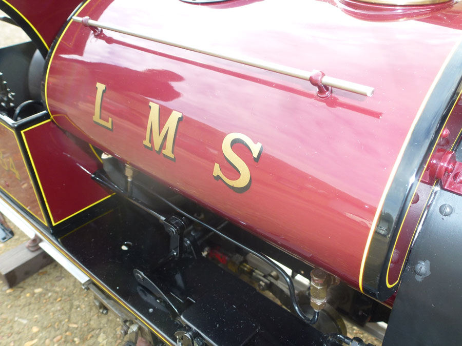 5 Inch Gauge LMS Saddle Tank