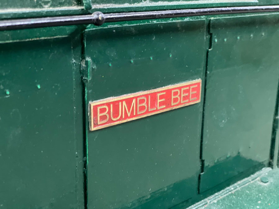 5 Inch Gauge 08 Shunter (Bumblebee)