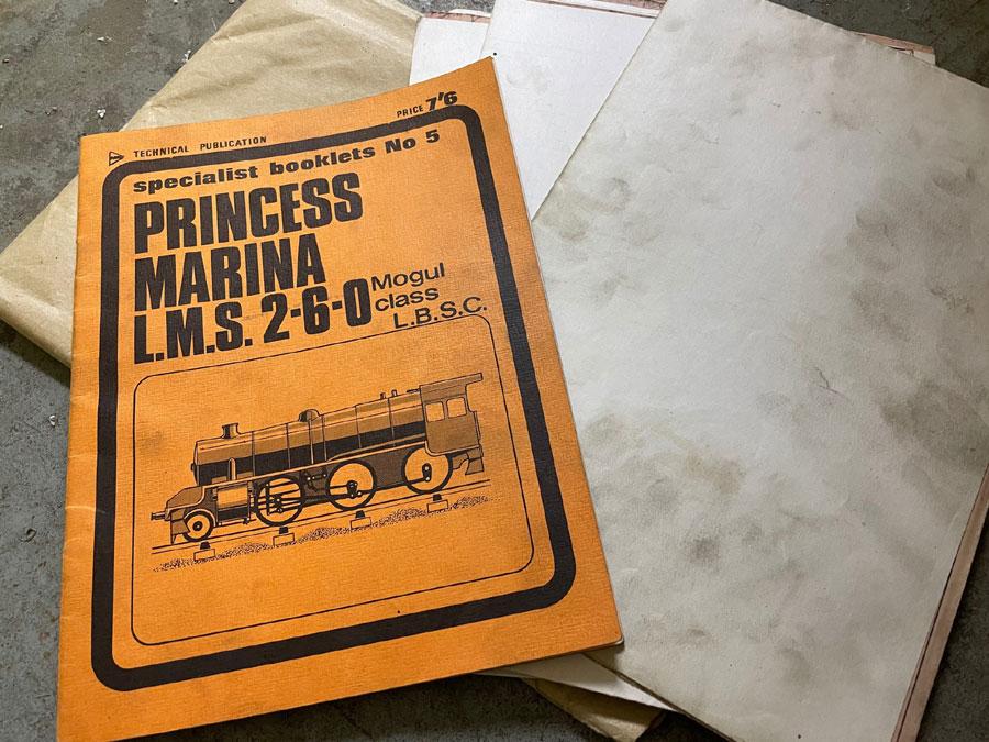 3.5 Inch Gauge Princess Marina Castings