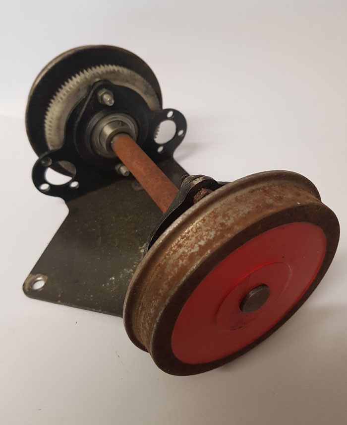 7.25 Inch Gauge Powered Wheelset