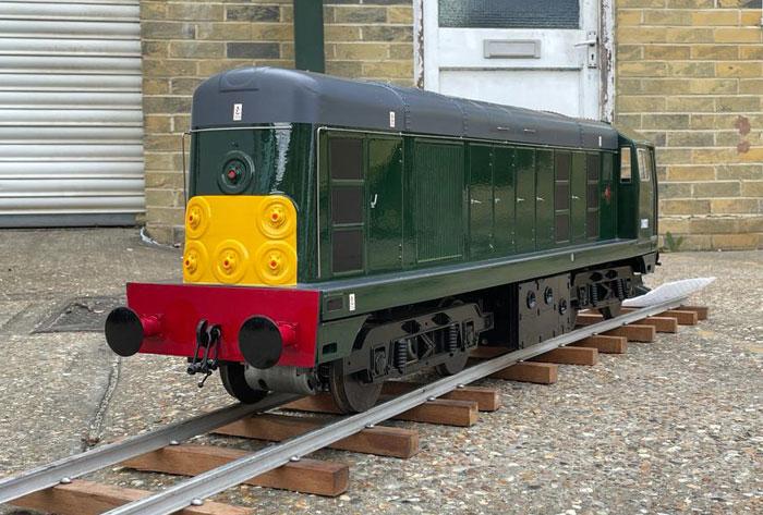 5 Inch Gauge Maxitrak Class 20