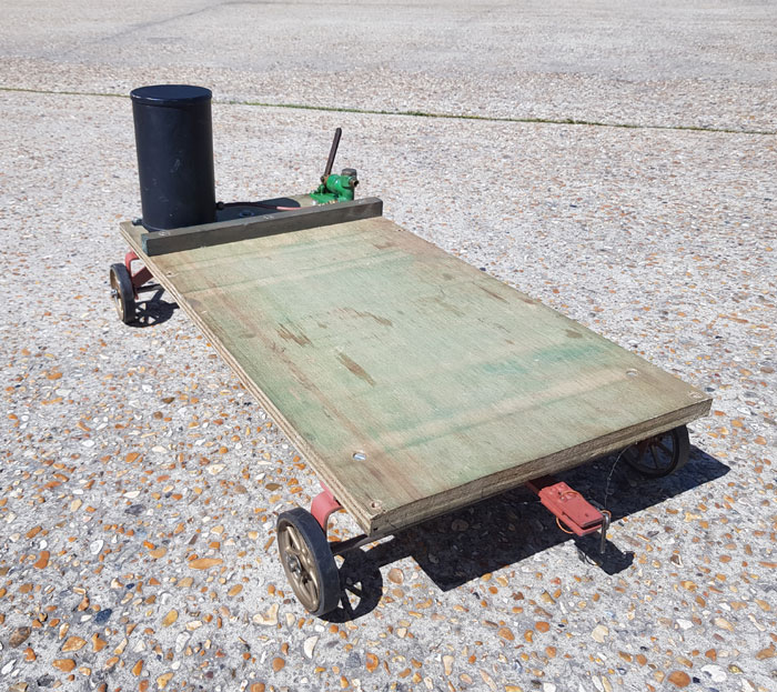 4 Wheel Traction Engine Wagon