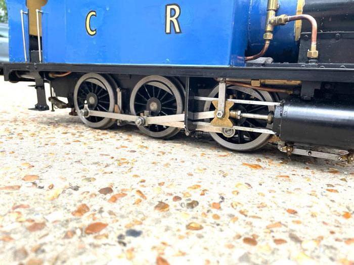 3.5 Inch Gauge Rob Roy (Blue)